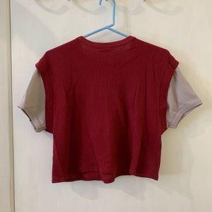 Tops - 💖4 for $20💖 Vintage Crop Top Sweater